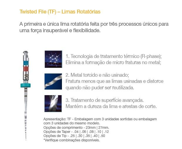 Infográfico do produto Lima Rot TF Sort  25 8% 23mm/ 30 6% 23mm/ 35 6% 23mm 3un