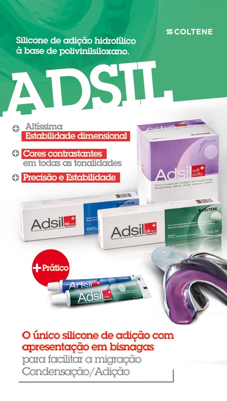 Infográfico do produto Silicone de Adição Adsil Light Body