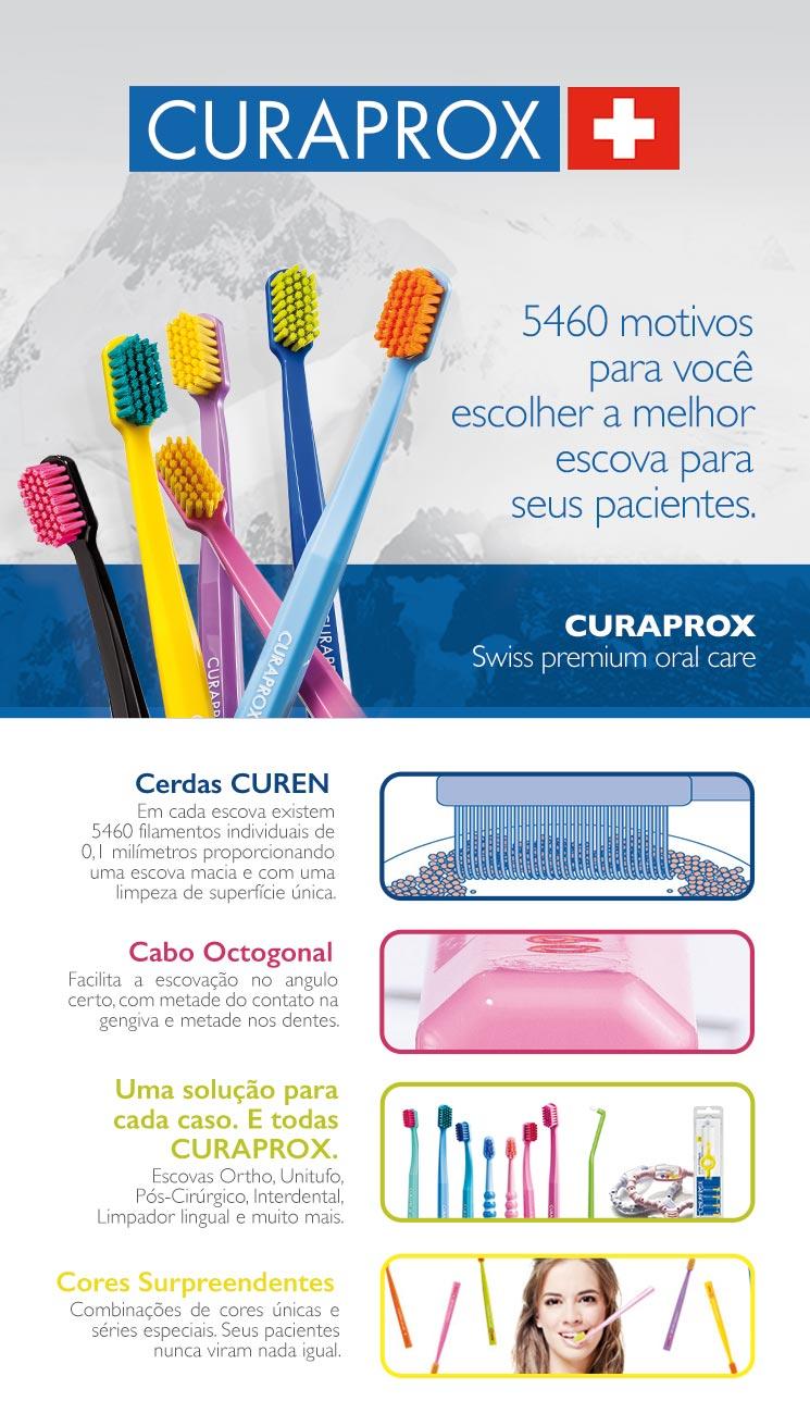 Infográfico do produto Escova Dental Ultra Soft CS 5460B - Sortida