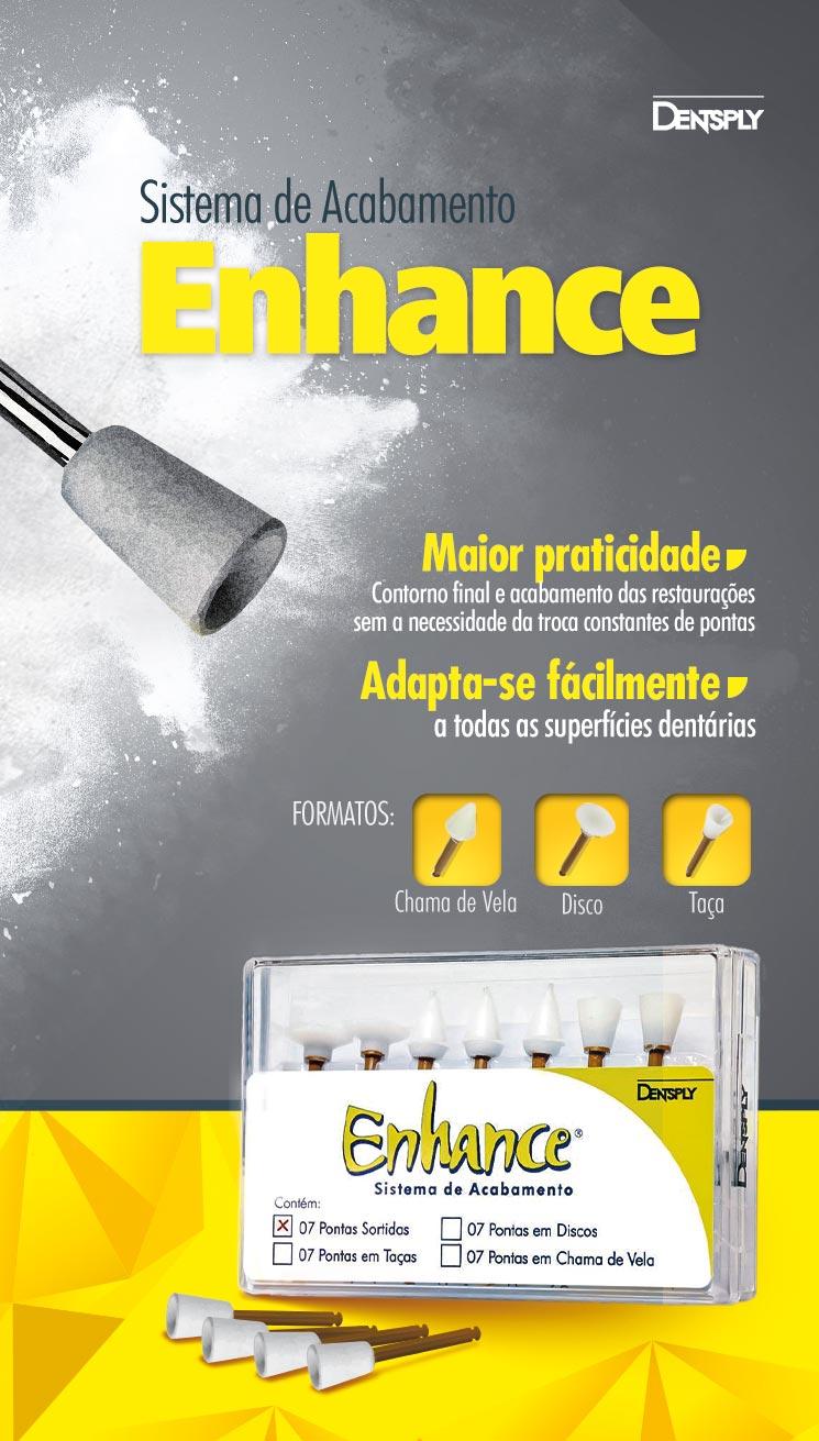 Infográfico do produto Ponta Enhance Sortido