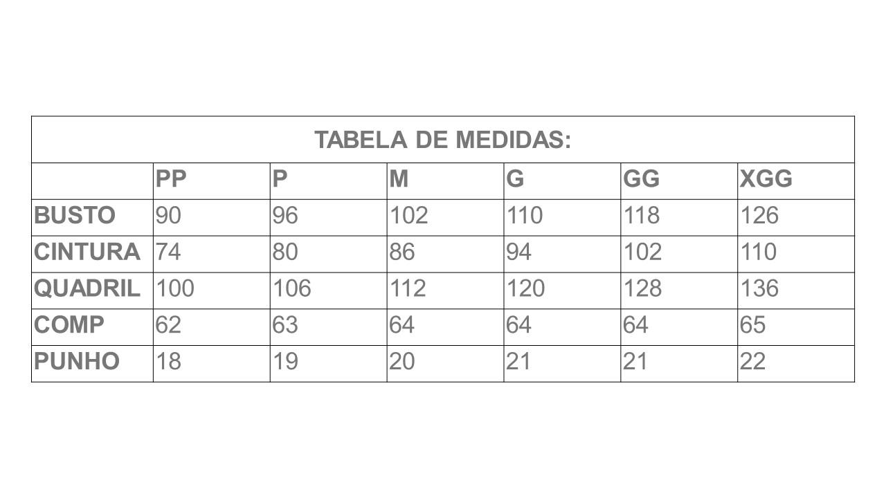 Infográfico do produto Jaleco Isadora Branco - Pp