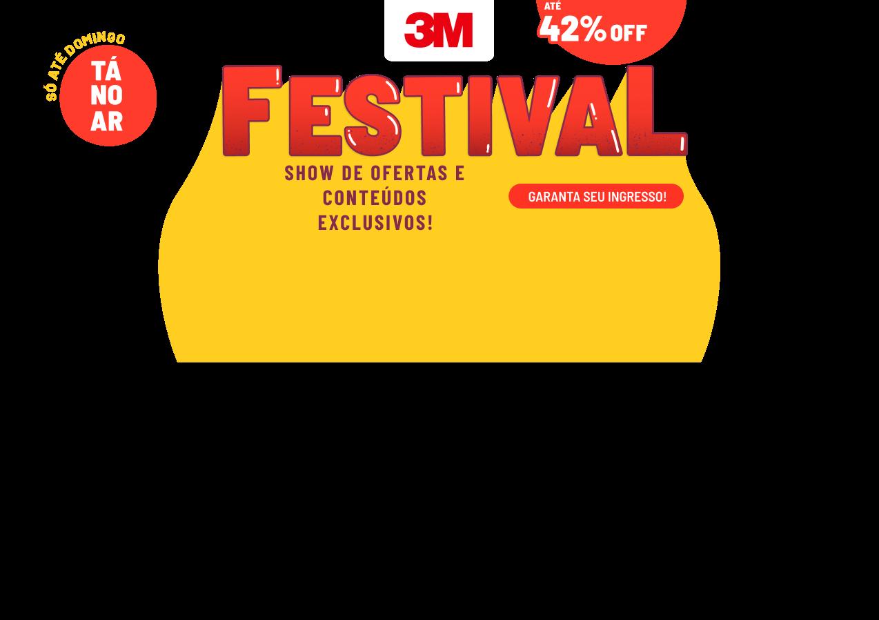 Festival 3M na Speed - Show de Ofertas e Conteúdos Exclusivos