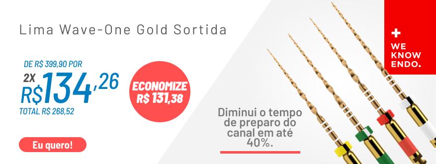 Lima Wave-One Gold com 15% OFF