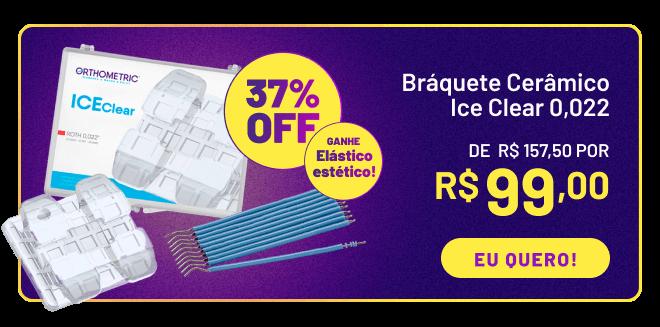 Braquete Ceramico Ice Clear!