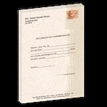 Declaração de Comparecimento Eco - Papel Reciclado