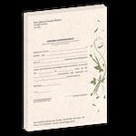 Atestado Eco Papel Reciclado - Caduceu Bucal
