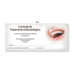 Carnê Controle de Tratamento Odontológico - Capa