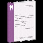 Carta de Comunicação - Mudança de Endereço - Class Roxo