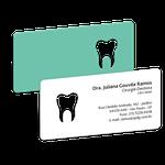 Cartão de Visita Dente Color - Verde