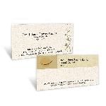 Cartão de Visita Eco - Papel Reciclado
