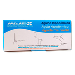 Agulha Descartável Hipodérmica 0,70 x 25mm 22G 1