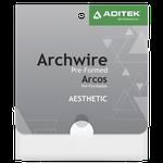 Arco de Aço Estético Off White Retangular