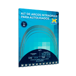 Kit de Arcos Intraorais p/ Autoligado