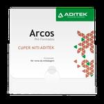 Arco Niti Cuper Termoativado Retangular - 2 Unid.