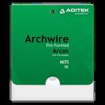 Arco NiTi Retangular