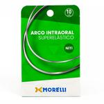 Arco Niti Superelástico Retangular - 10 Unid.