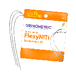 Arco Termoativado Flexy NiTi Thermal 35° Retangular Inferior - Pague 10 Leve 12