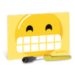 Atividades p/ a Criança - Sai Sujeira Smile Amarelo