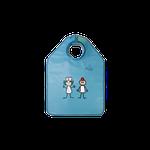 Avental de Borracha Plumb. Infantil c/ Prot. de Tireóide 60x50cm - Uso Pacien. Periapical