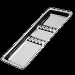 Bandeja Clínica Aço Inox c/ Separação - Pequena