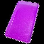 Bandeja p/ Esterilização c/ Glitter Lilás - Medio