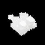 Bráquete Cerâmico Clarity Advanced MBT 0,22 + Sequência de Fios