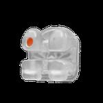 Bráquete Cerâmico Gemini Crystal Clear MBT 0,022 - Brinde Folhetos + Display