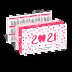 Calendário de Bolso - Amor