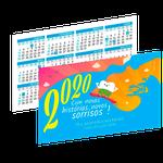 Calendário de Bolso - Kiko Surfista