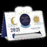 Calendário de Mesa 2021 - Prevejo Sorrisos