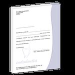 Carta de Comunicação - Agradecimento Indicação - Colega Slim