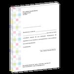 Carta de Comunicação - Agradecimento Indicação Colega - Class