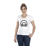Camiseta Feminina Headphone