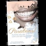 Cartão de Aniversário Linha Gold - Aquarela Sorriso