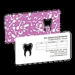 Cartão de Horário Dente Color