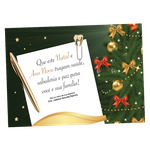 Cartão de Natal - Carta
