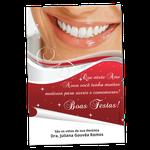 Cartão de Natal - Sorriso Vermelho