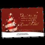 Cartão de Natal - Árvore Sorrisos