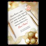 Cartão de Natal - Receituário Dourado