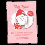 Cartão de Natal - Dentinho Noel