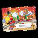 Cartão de Natal - Kiko Trenzinho
