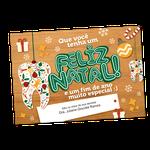 Cartão de Natal - Objetos