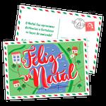 Cartão de Natal - Postal Maps