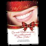 Cartão de Natal - Sorrisão Laço