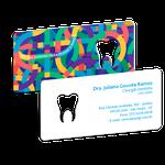 Cartão de Visita Dente Color - Good Vibes