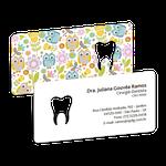 Cartão de Visita Dente Color - Corujinha
