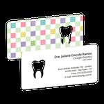 Cartão de Visita Dente Color - Smile Color
