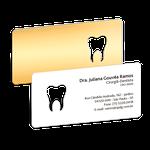 Cartão de Visita Dente Color