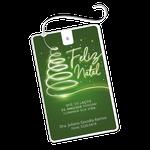 Cartão Fio Dental - Árvore de Natal