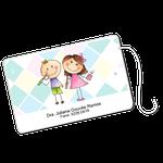 Cartão Fio Dental - Casal
